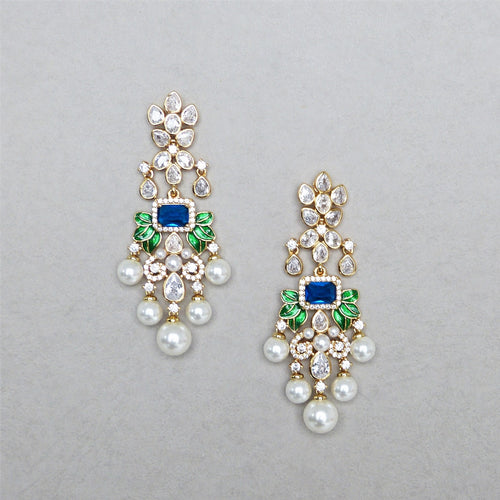 Amira Pearl Earrings Malaysia Bridal