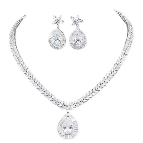 Charlotte Simulated Diamond Bracelet - Rachel Rosh