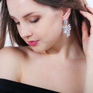 Nora Simulated Diamond Earrings