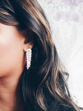 Load image into Gallery viewer, Camilla CZ Bridal Earrings