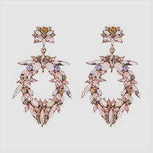 Load image into Gallery viewer, Stella Statement Rhinestone Earrings