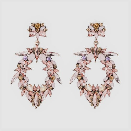 Stella Statement Rhinestone Earrings