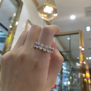 Juliet Simulated Diamond Ring