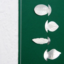 Load image into Gallery viewer, Stainless Steel Leaf Bookmark