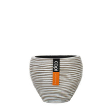 Load image into Gallery viewer, Rib Vase Tapered Round