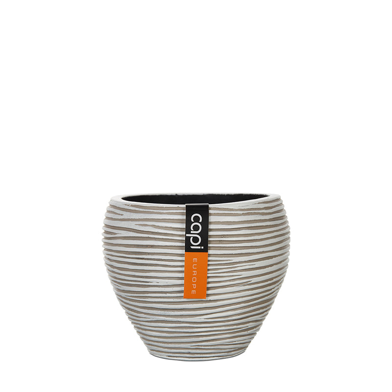 Rib Vase Tapered Round