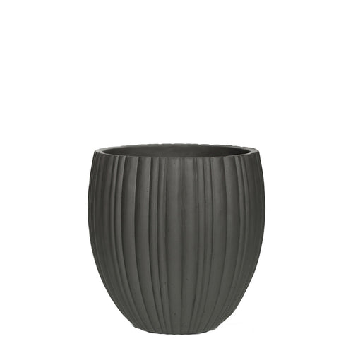 Tube Vase Elegant Grey