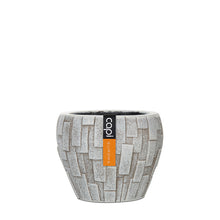Load image into Gallery viewer, Stone Vase Tapered Round