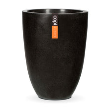 Load image into Gallery viewer, Vase Elegant Low Terrazzo Black