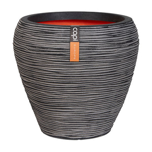 Vase Tapered Round Rib NL