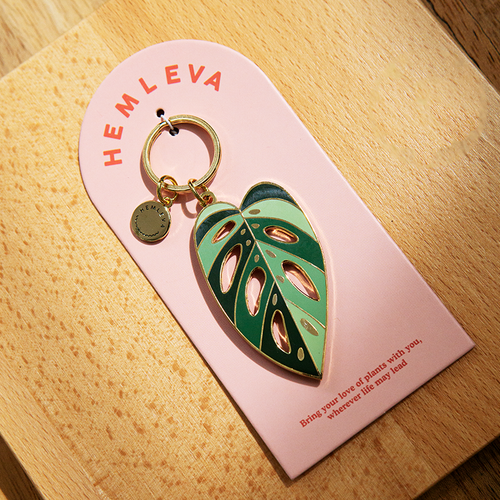 Monstera Adansonii Keychain