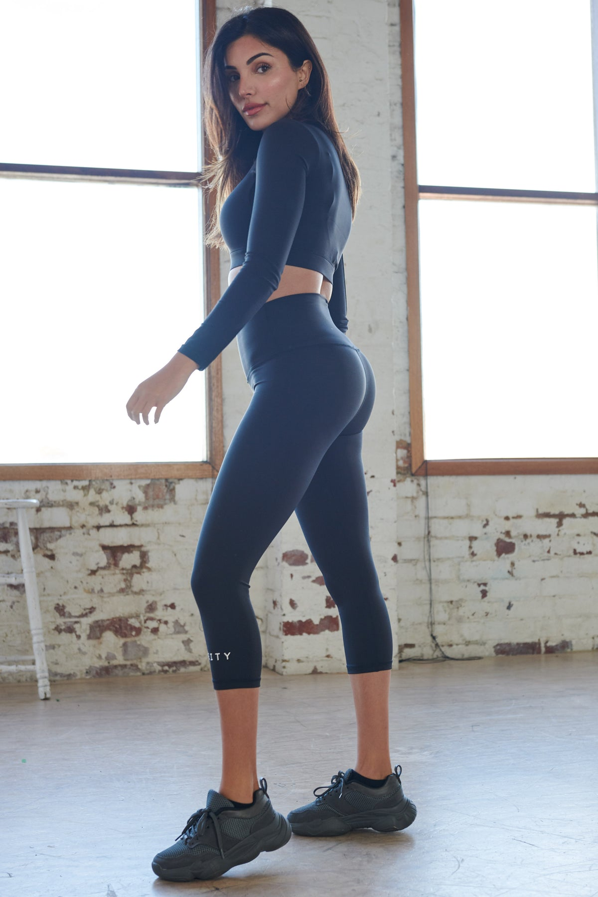 7/8 Leggings - Black