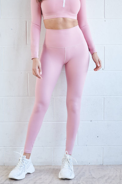 Blush Full Length Leggings