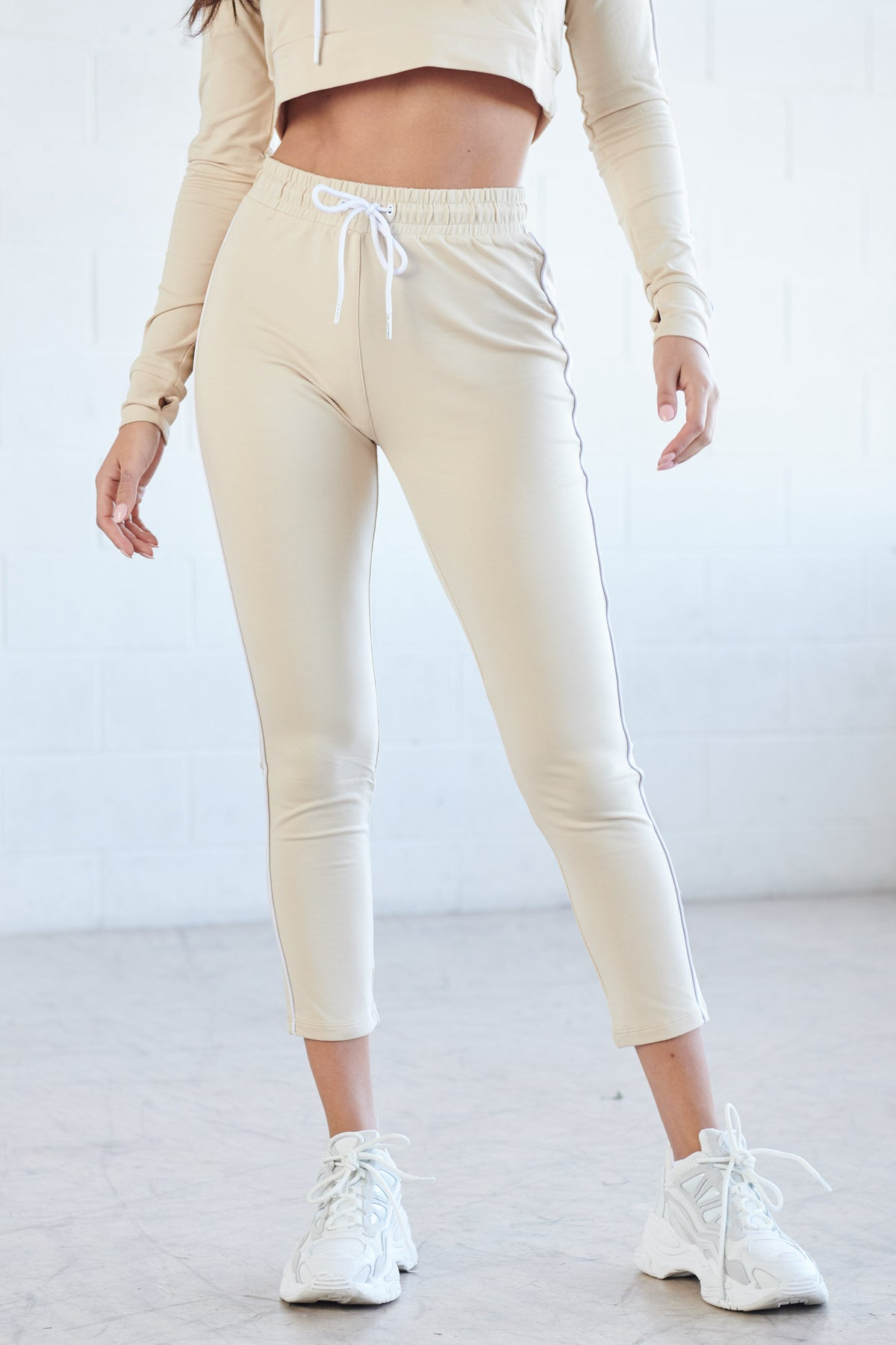 Sand Stripe Sweat Pant