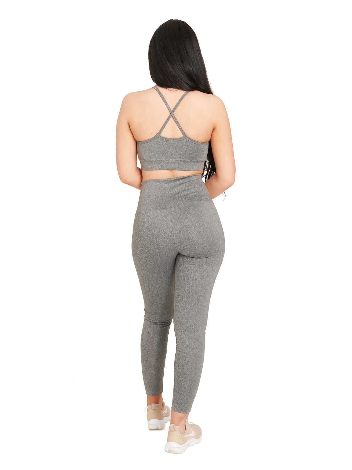 Deity Sports Bra / Grey