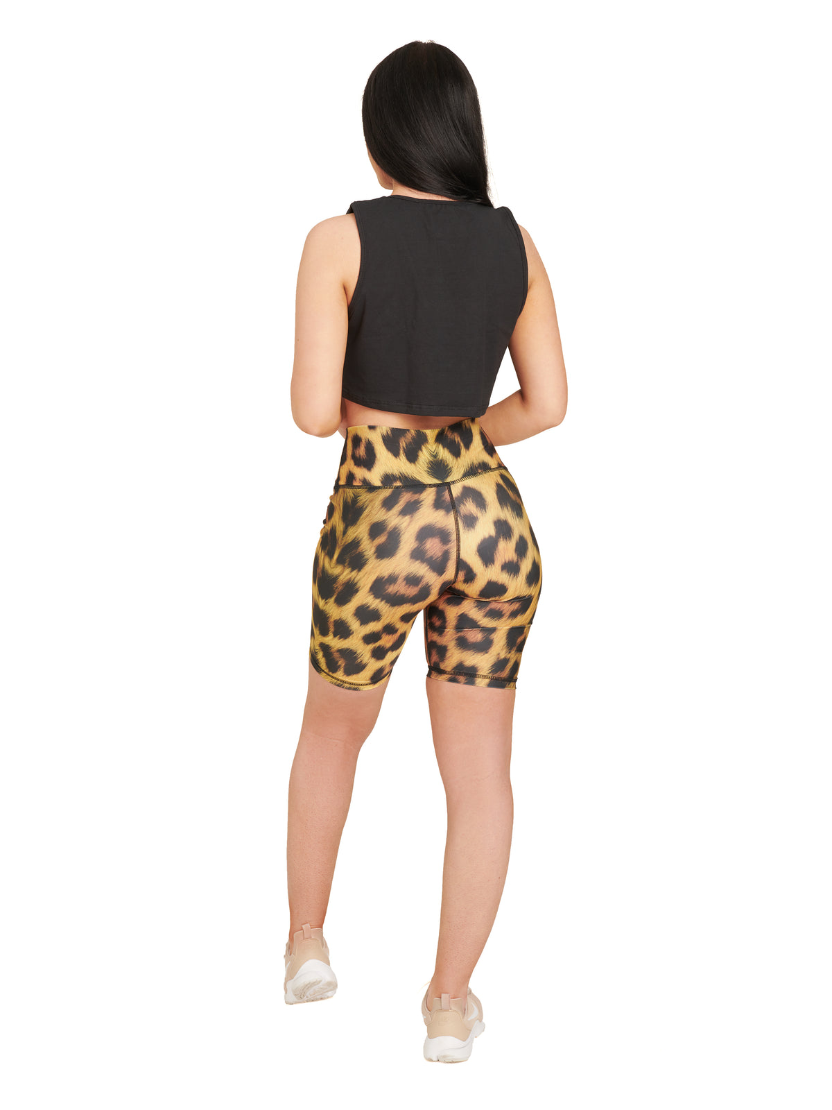 SALE - Bicycle Shorts / Leopard