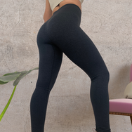 'Shape Me' Seamless Leggings - Black