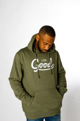 Good Khaki Hoodie - BG | Born Good Clothing