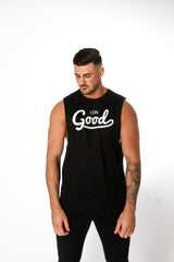 Good Black Vest - BG | Born Good Clothing