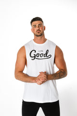 Good White Vest - BG | Born Good Clothing
