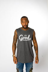 Good Grey Vest - BG | Born Good Clothing