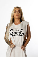 Good Beige Vest - BG | Born Good Clothing