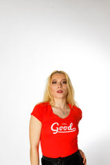 Good Red T Shirt - BG | Born Good Clothing