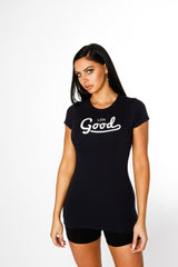 Good Black T Shirt - BG | Born Good Clothing