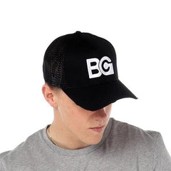 Black Distressed Cap - BG | Born Good Clothing