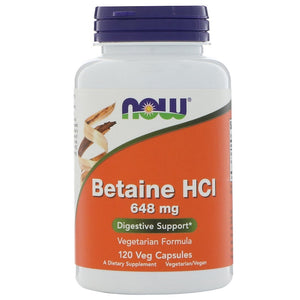 Betaine HCL,  (hydrochloric acid)