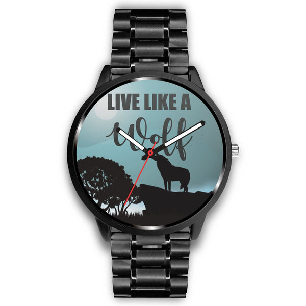 Live Like A Wolf Watches