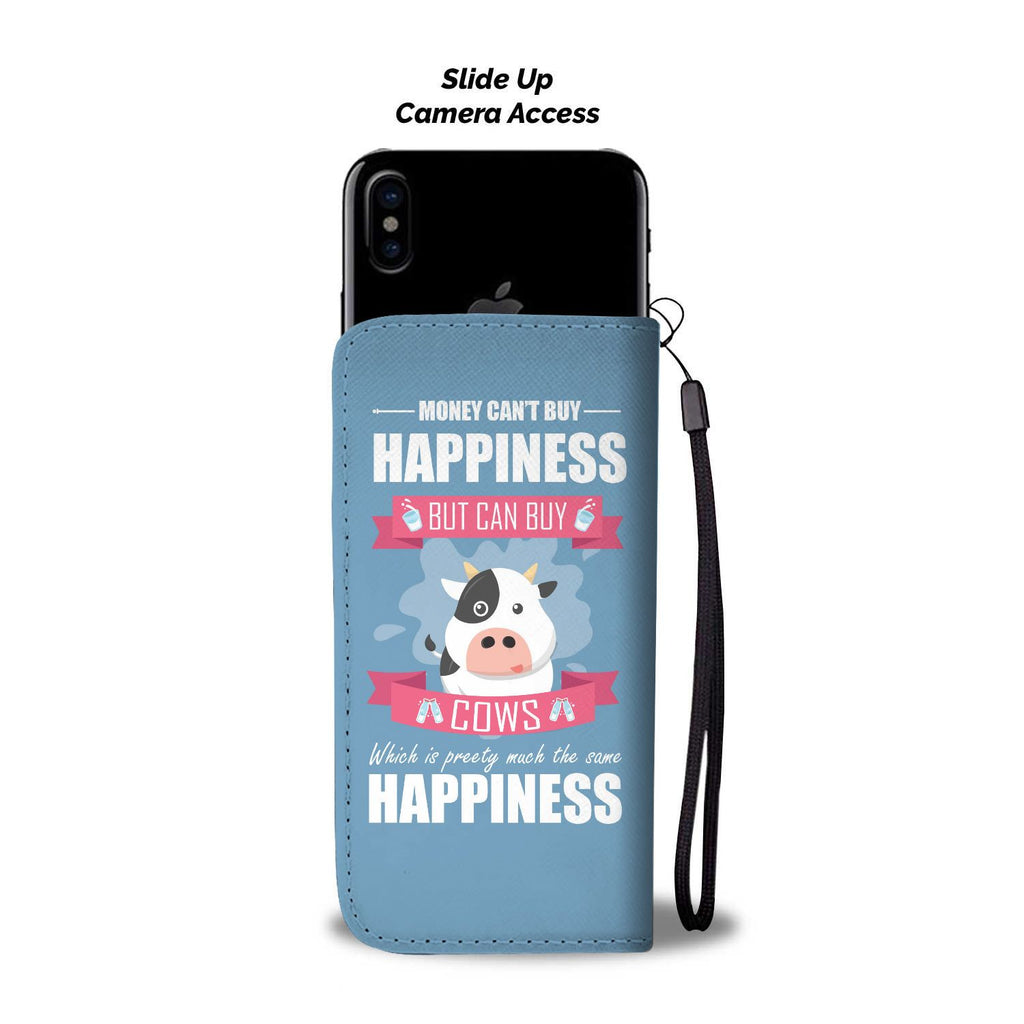 Money Can't Buy Happiness Wallet Case