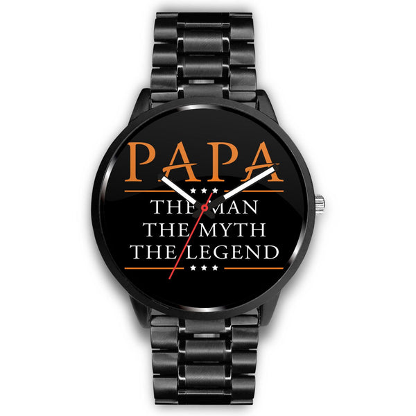 Papa The Man The Legend Watches