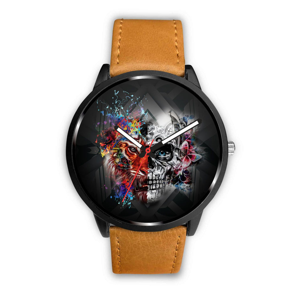Tiger Skull Watch