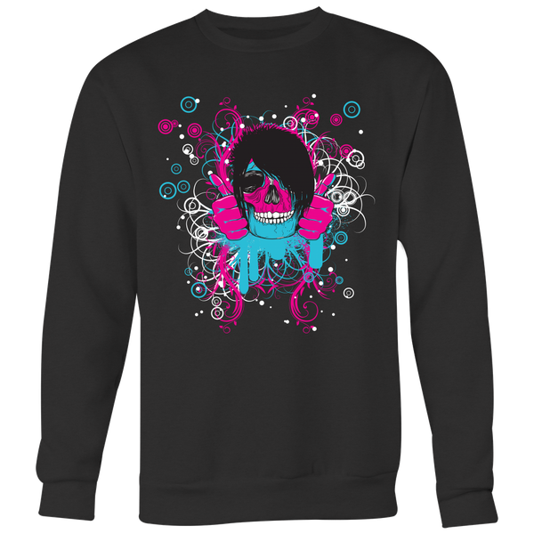 Colorful Girl Skull Sweatshirt