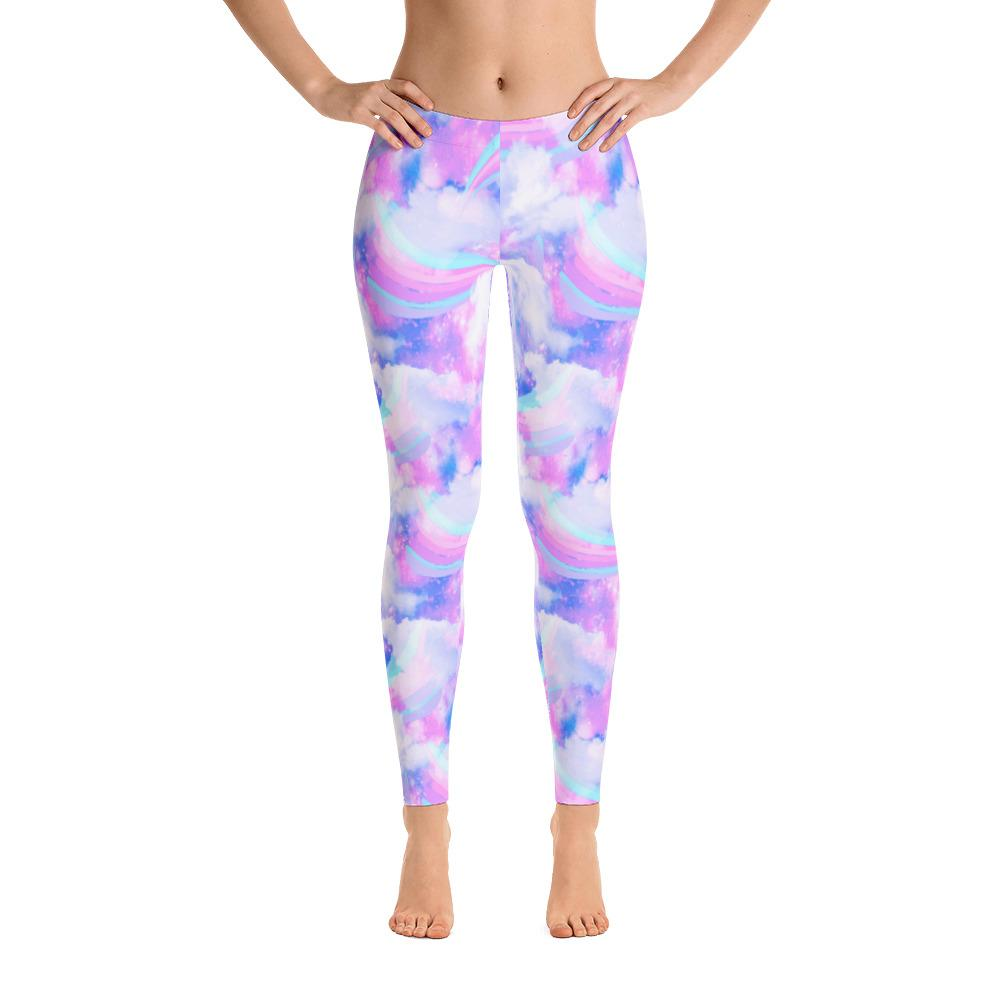 Colorful Cloud Leggings