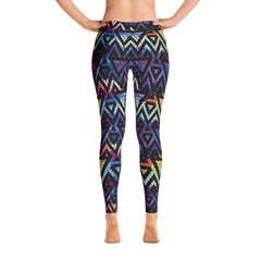 Galaxy Triangle Pattern Leggings