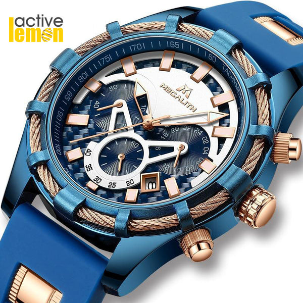 MEGALITH Luxury Men Watches