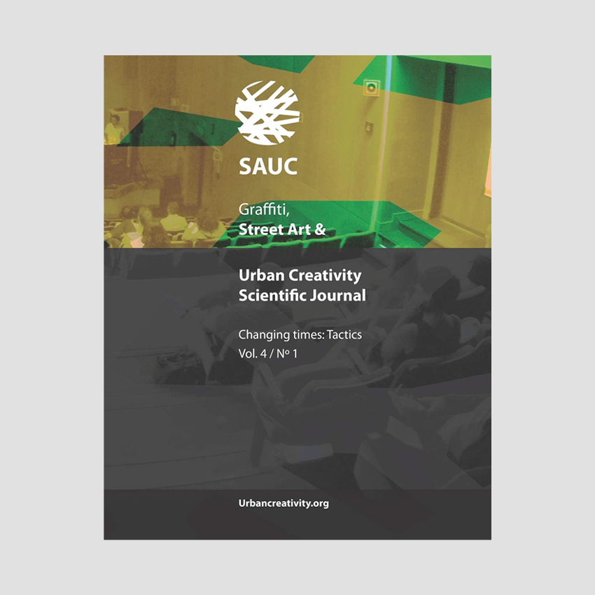 Urban Creativity Scientific Journal #4 : Changing times: Tactics