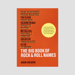 Adam Dolgins│The Big Book of Rock and Roll Names