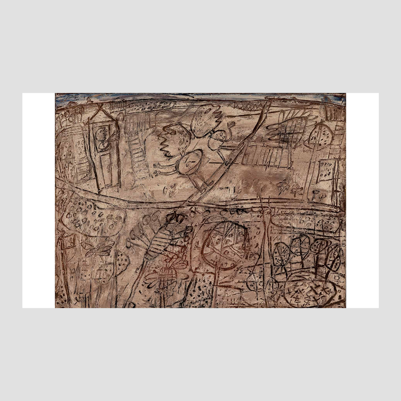 Jean Dubuffet - Anticultural Positions