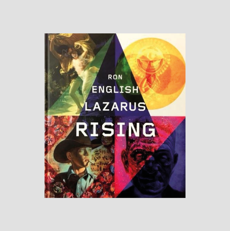 Ron English│Lazarus Rising SIGNED