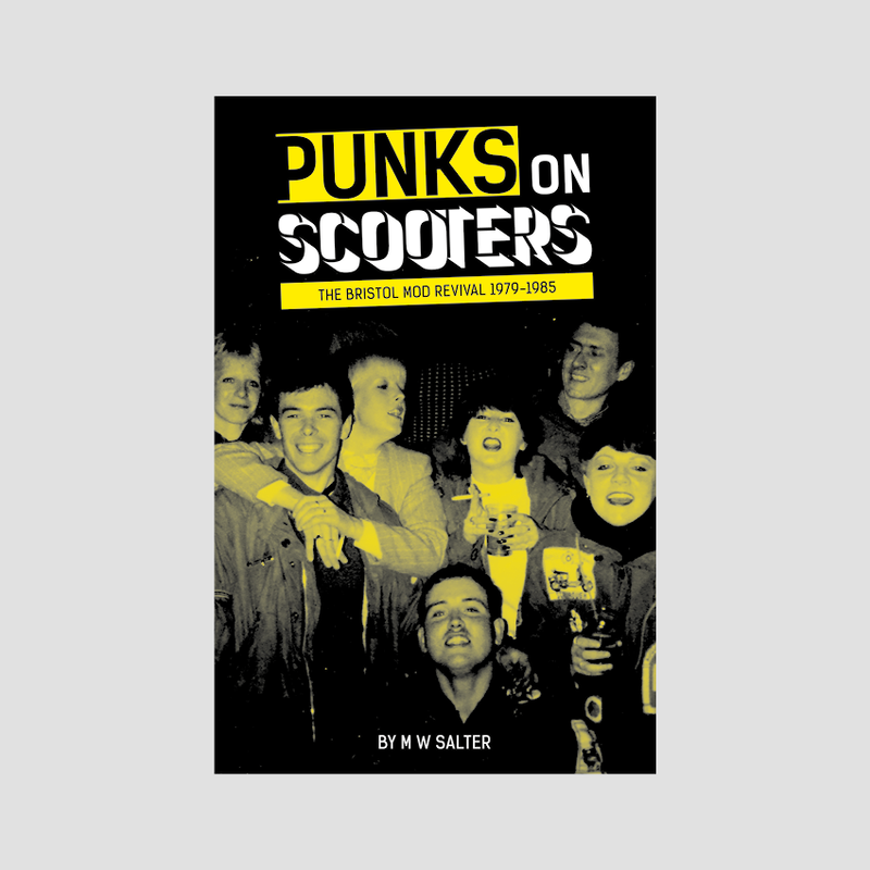 Michael Salter│Punks On Scooters (with Mods, Power Pop, Scooter Boys – 1979-1987 cd)
