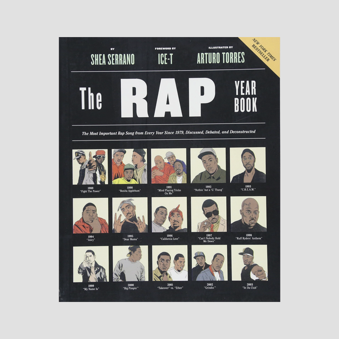 Shea Serrano│The Rap Year Book