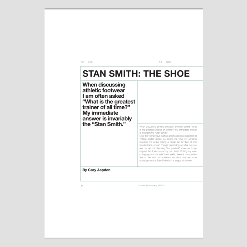 Stan Smith│Some People Think I'm A Shoe