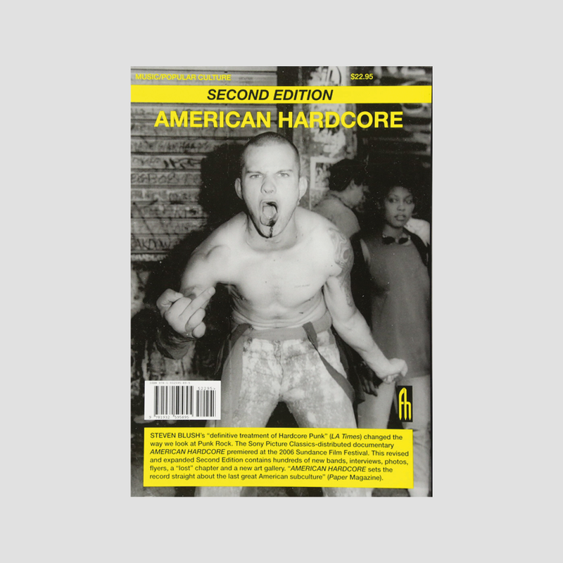 Steven Blush│American Hardcore: A Tribal History (2nd Edition)
