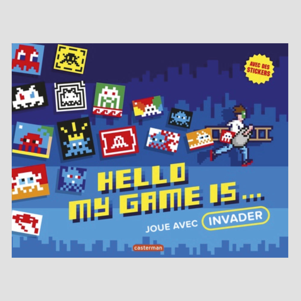 Invader│Hello My Game Is