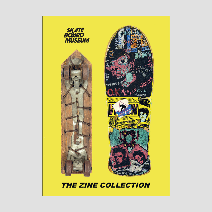 Jürgen Blümlein - Skateboard Museum : Zine collection