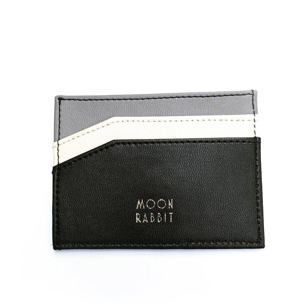 Card Holder - Black/Grey - moonrabbitlifestyle