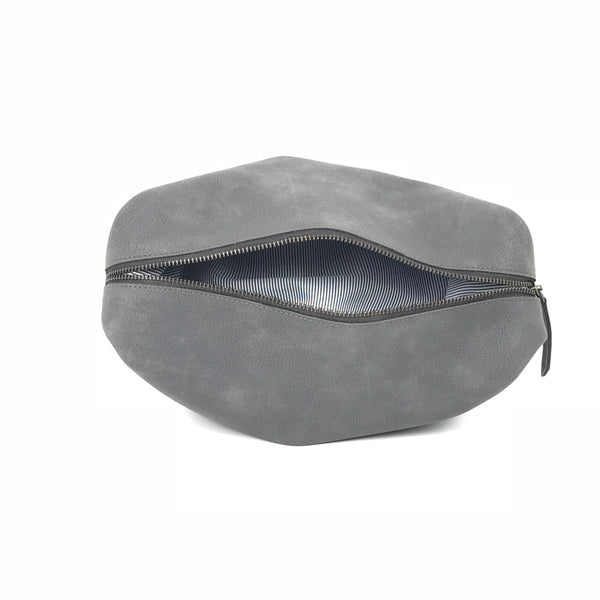 Travel Pouch - Grey - moonrabbitlifestyle